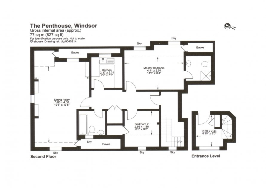 executive penthouse to let in windsor accommodation