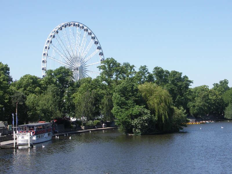 Windsor Wheel on The River Thames