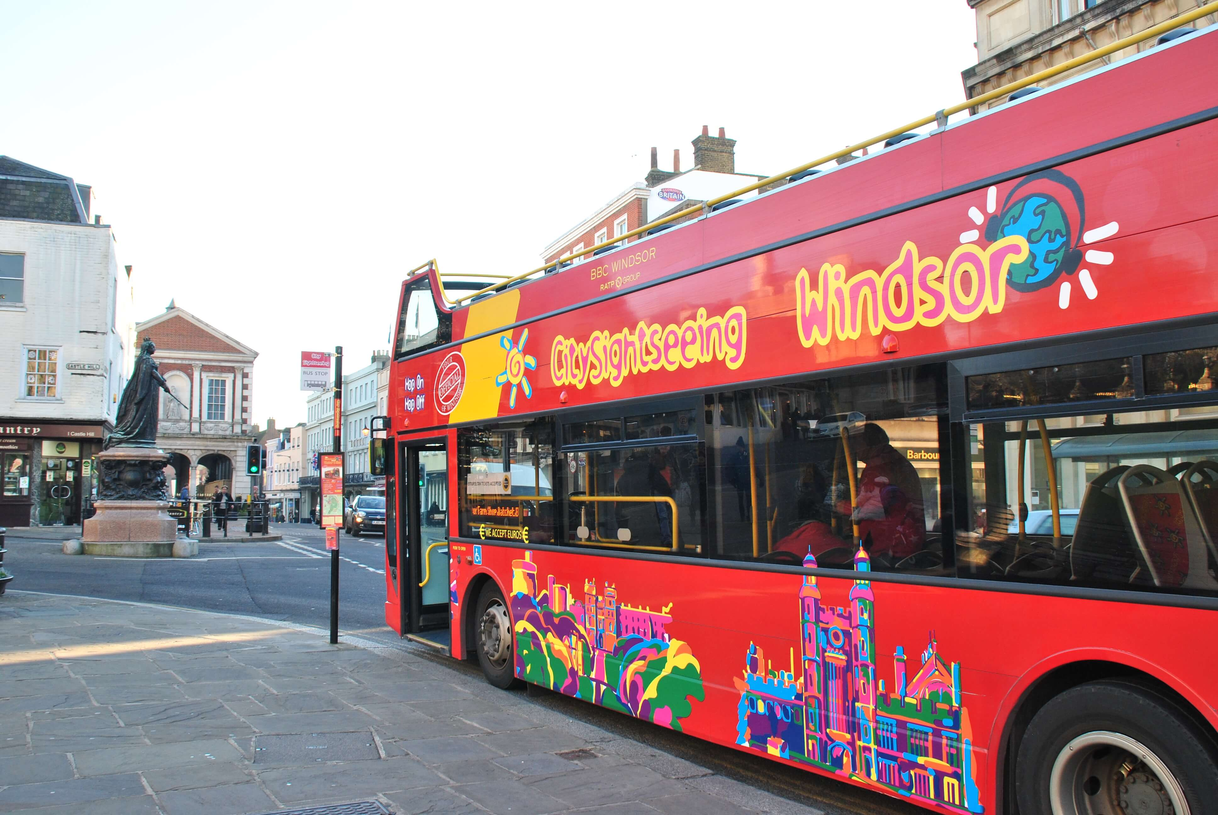 Windsor Open top Bus Tour