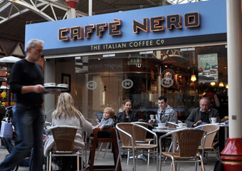 Cafe Nero - places to eat in Windsor / Eton