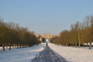 The Long Walk Windsor Castle UK