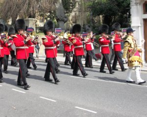 Guard Change Windsor, Windsor Castle