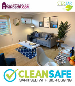 covid safe serviced apartments Windsor