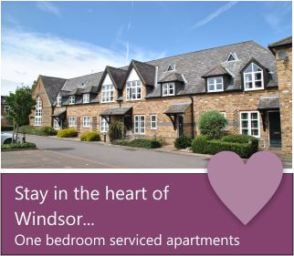one bedroom serviced apartment in Windsor